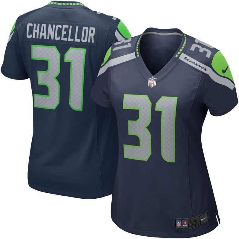 Kam Chancellor Seattle Seahawks Nike
