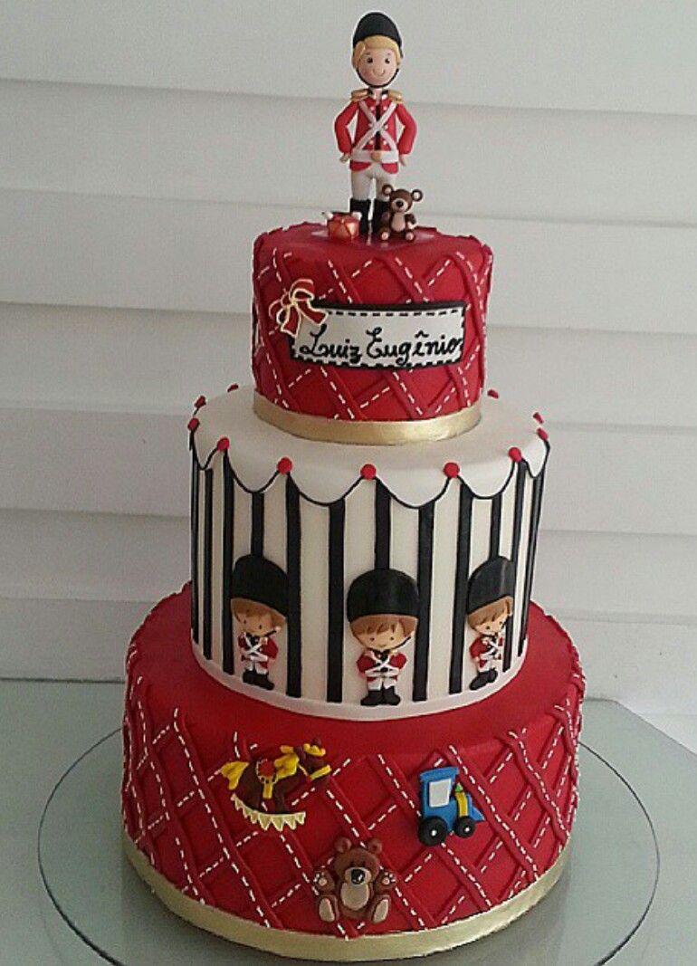Pastel Soldado Ingls Cakes Pinterest Cake Red Cake And Cake