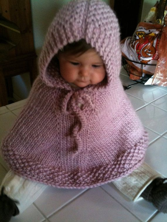 Baby poncho Hooded poncho Baby girl clothes Baby boy by ChickSale ...