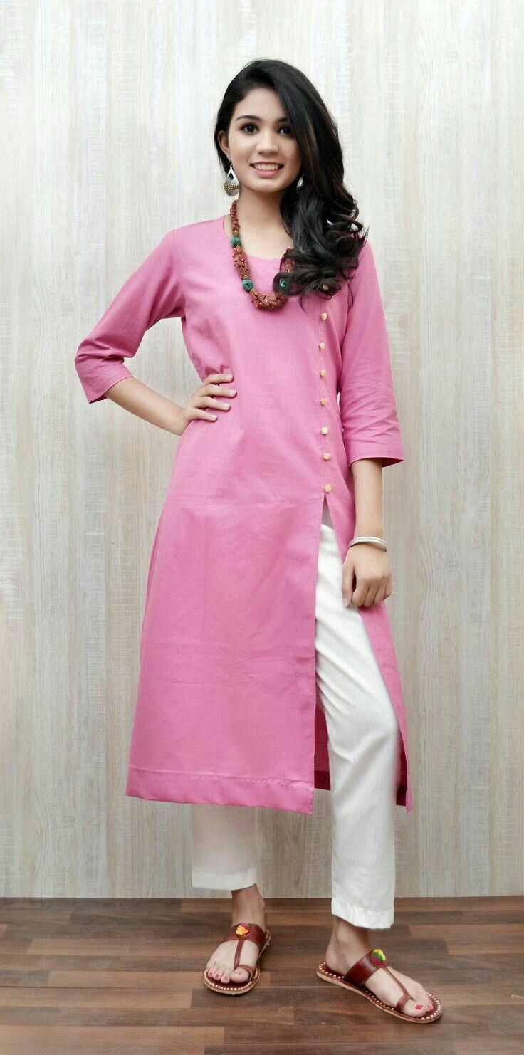 Pin by Aamina Rehman on latest fashion | Pinterest | Kurti, Kurtis ...