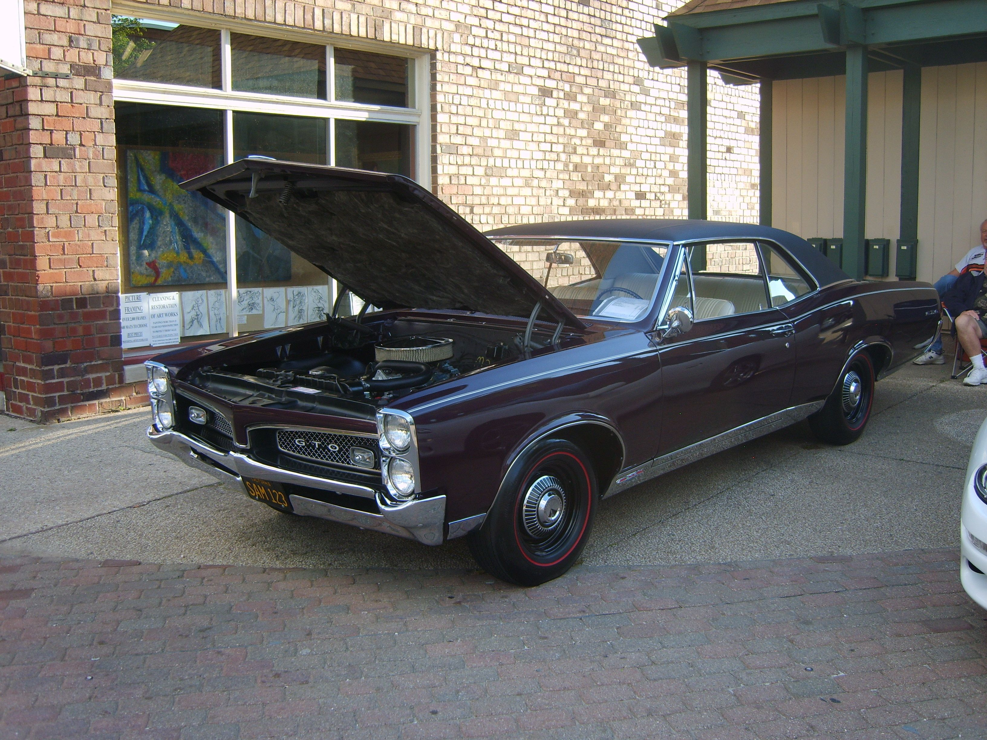 1967 #GTO as seen at the Riverfront Cruise In, Cuyahoga Falls, OH
