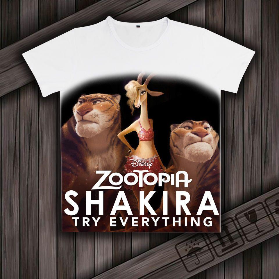 Cool Anime Cosplay T-shirt Cartoon Print for Gazelle Couple Boy Girl Shirt Tee #Unbranded #Casual