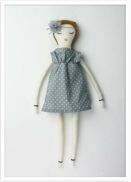 Flurry Rag Doll - Copper Doll from Dumyé / Petite Dumyé / For each doll purchased a doll is gifted to an orphan in need / Dolls With Purpose®