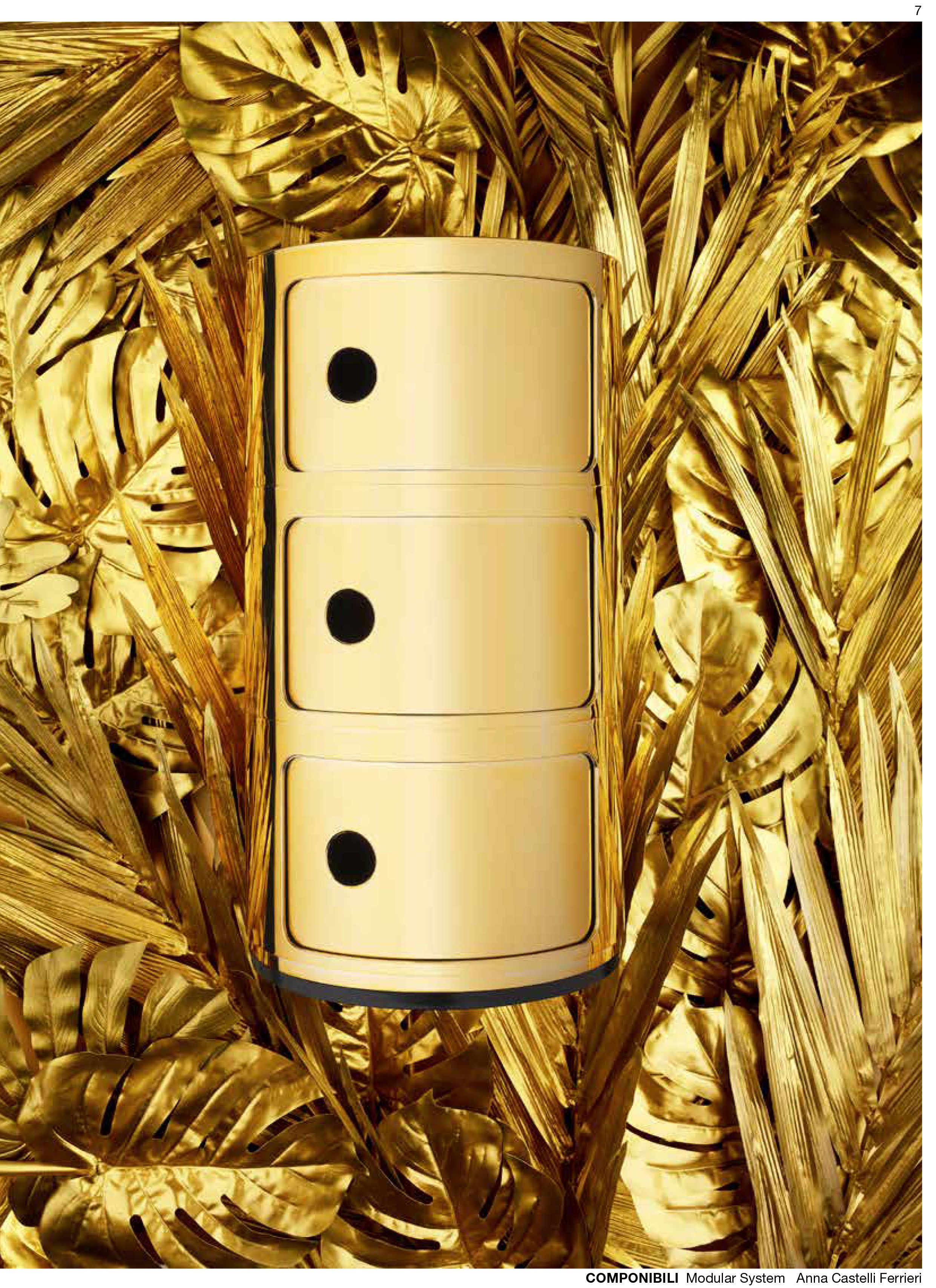 Ein bisschen Gold und Silber: Componibili von Kartell | online ...