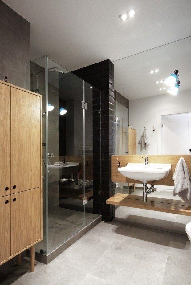 105 idées de design de la salle de bain de style moderne | Salles ...