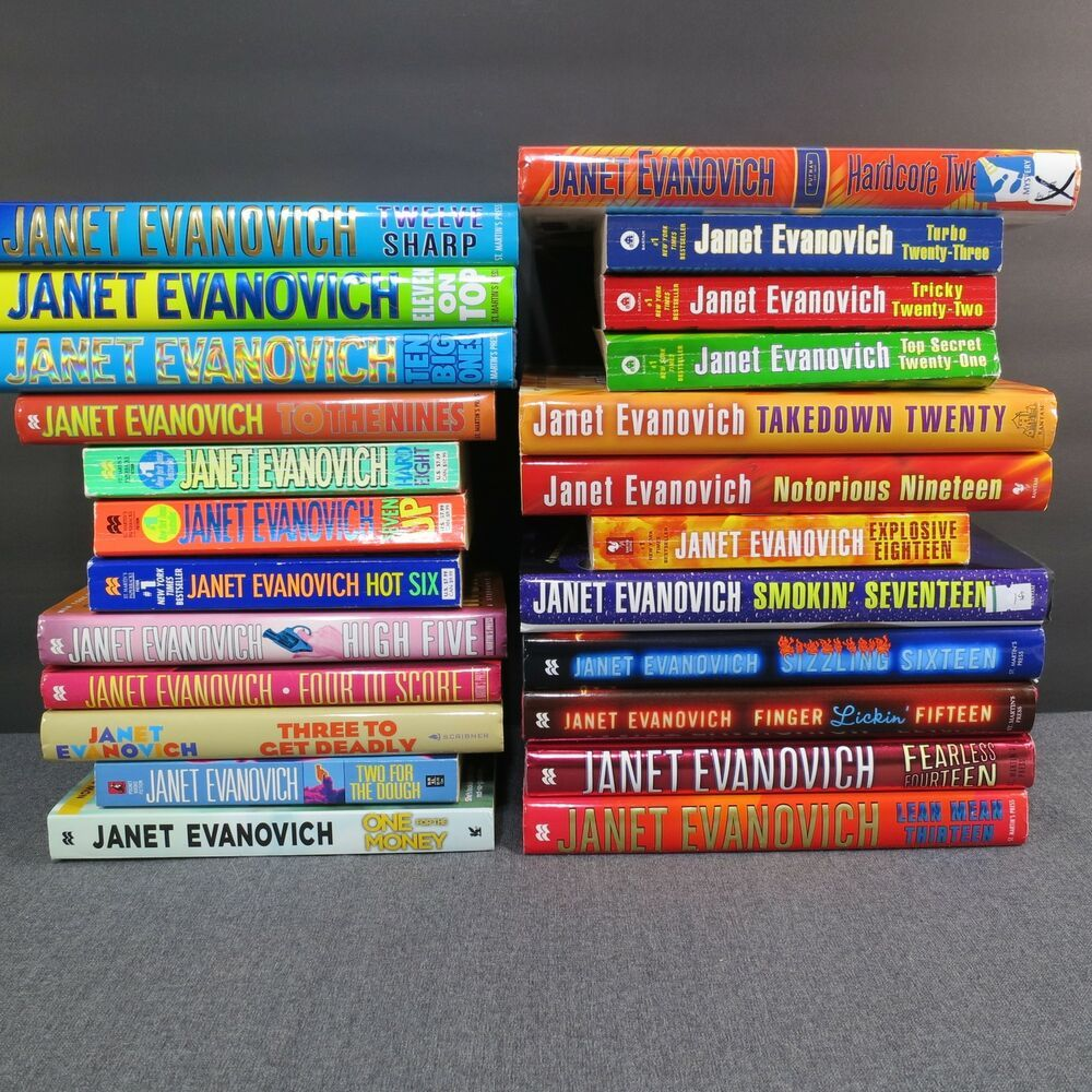 Details about evanovich stephanie plum series books