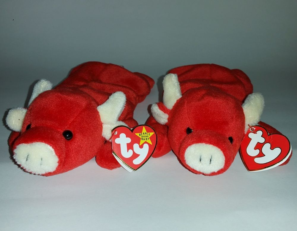 4dff1540f35 Only 1 on eBay ----  TY TABASCO 3rd 1st Gen Beanie Baby + FREE GIFT SUPER  RARE!  Ty