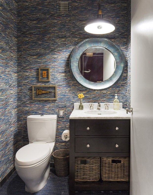 Um casal incomum no Brooklyn Interior inspiration, Exterior design - Design Bathroom