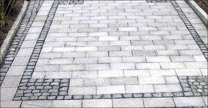 Pflasterplatten Granit Pflaster Garten Grau Granitpflaster Garten Pflaster Pflastersteine