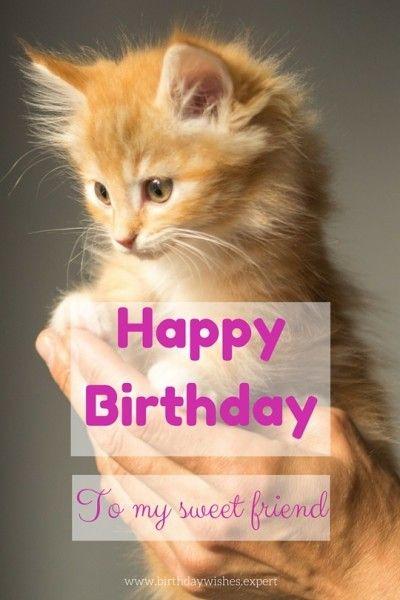 Happy Birthday To My Sweet Friend