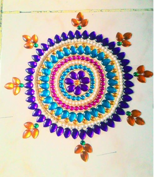 Rangoli Designs Simple and Small - Rangoli | Rangoli ...