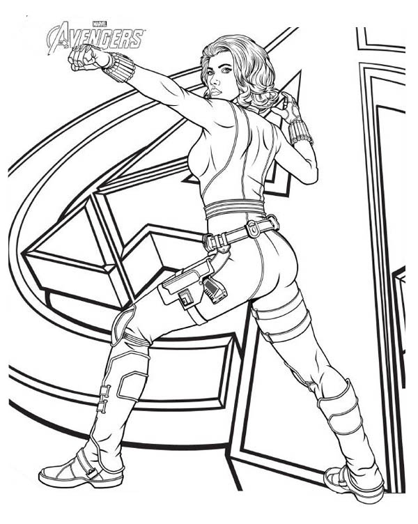 Avengers Character Black Widow Coloring Page Download Print Online Coloring Pages For Free Colo In 2020 Avengers Coloring Marvel Coloring Avengers Coloring Pages