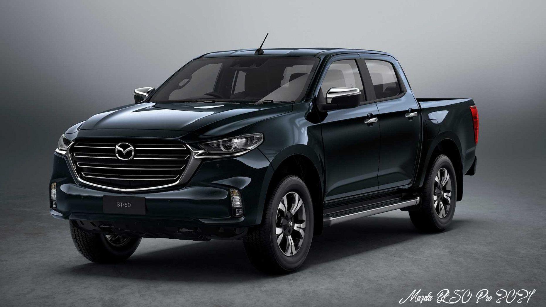 Mazda Bt 50 Pro 2021 Spy Shoot In 2020 Mazda Mini Van Pickup Trucks