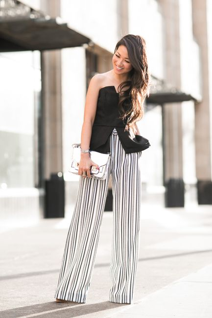 10 Super Chic Palazzo Pant Outfit Ideas 11 My Diva Style