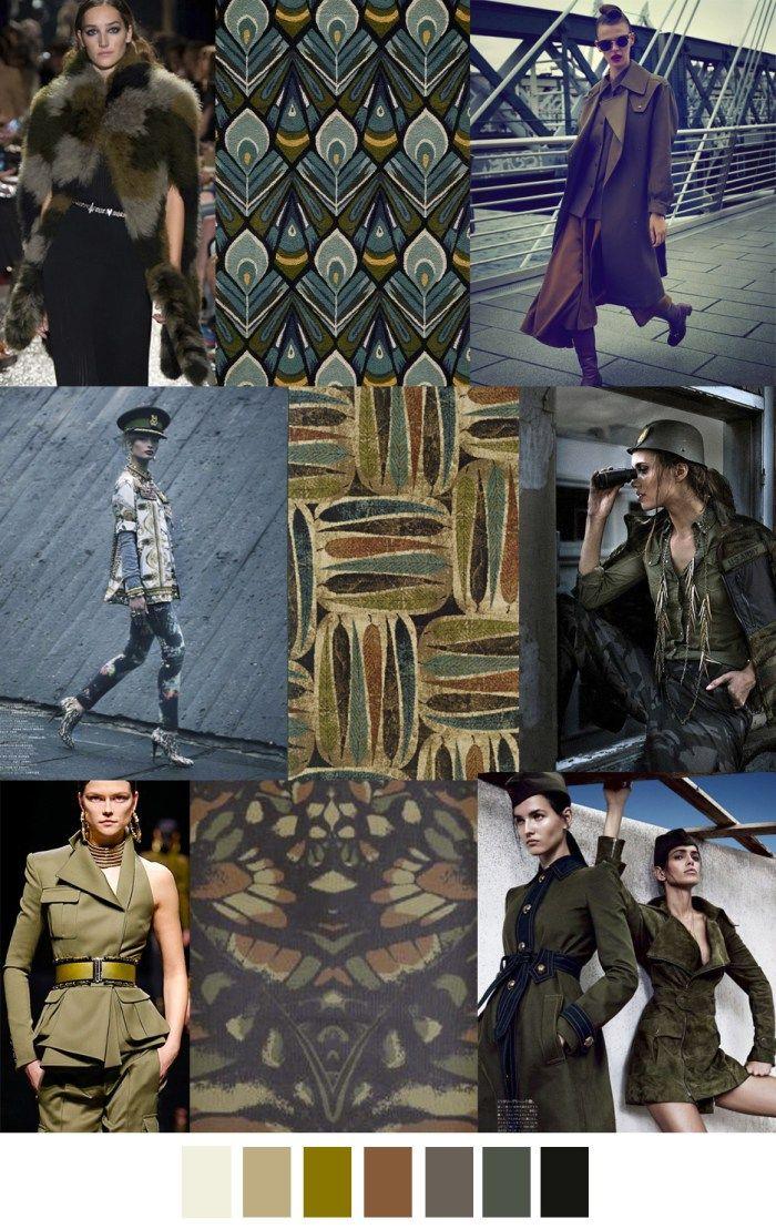 F/W 2017-2018 pattern & colors trends: G.I. JANE | Fall ...