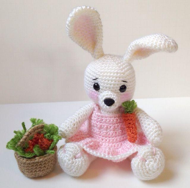Ravelry: Dress Me Bunny pattern by Sharon Ojala | AMIGURUMI ...