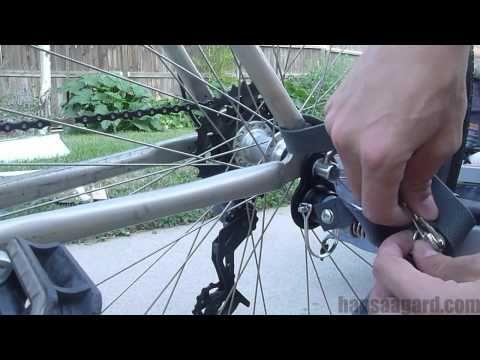How To Attach The Instep Bike Trailer Instep Bike Trailer Bike