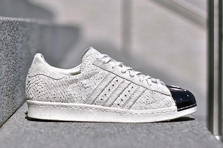 21d9a19ab7a9 adidas Releases the Superstar 80s With Metallic