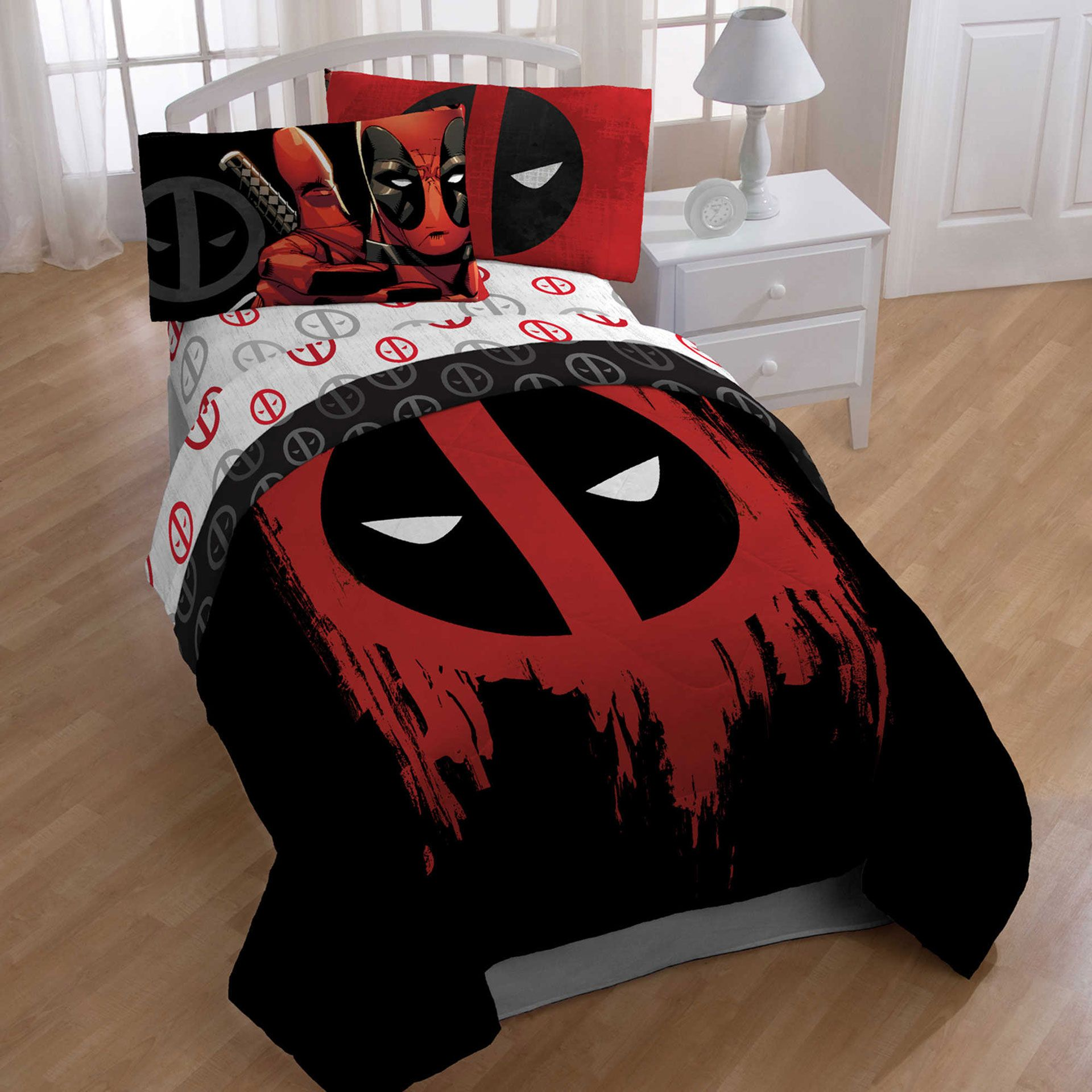 Marvel Deadpool Bedroom Set Decoracao De Casa My New Room E