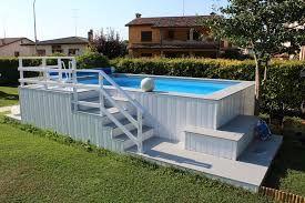 Image result for copertura piscina fuori terra Hinterhof