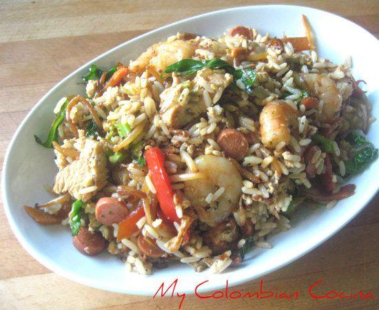 My Colombian Cocina Arroz Chino Colombiano Recetas Colombianas Comida Colombiana Comida