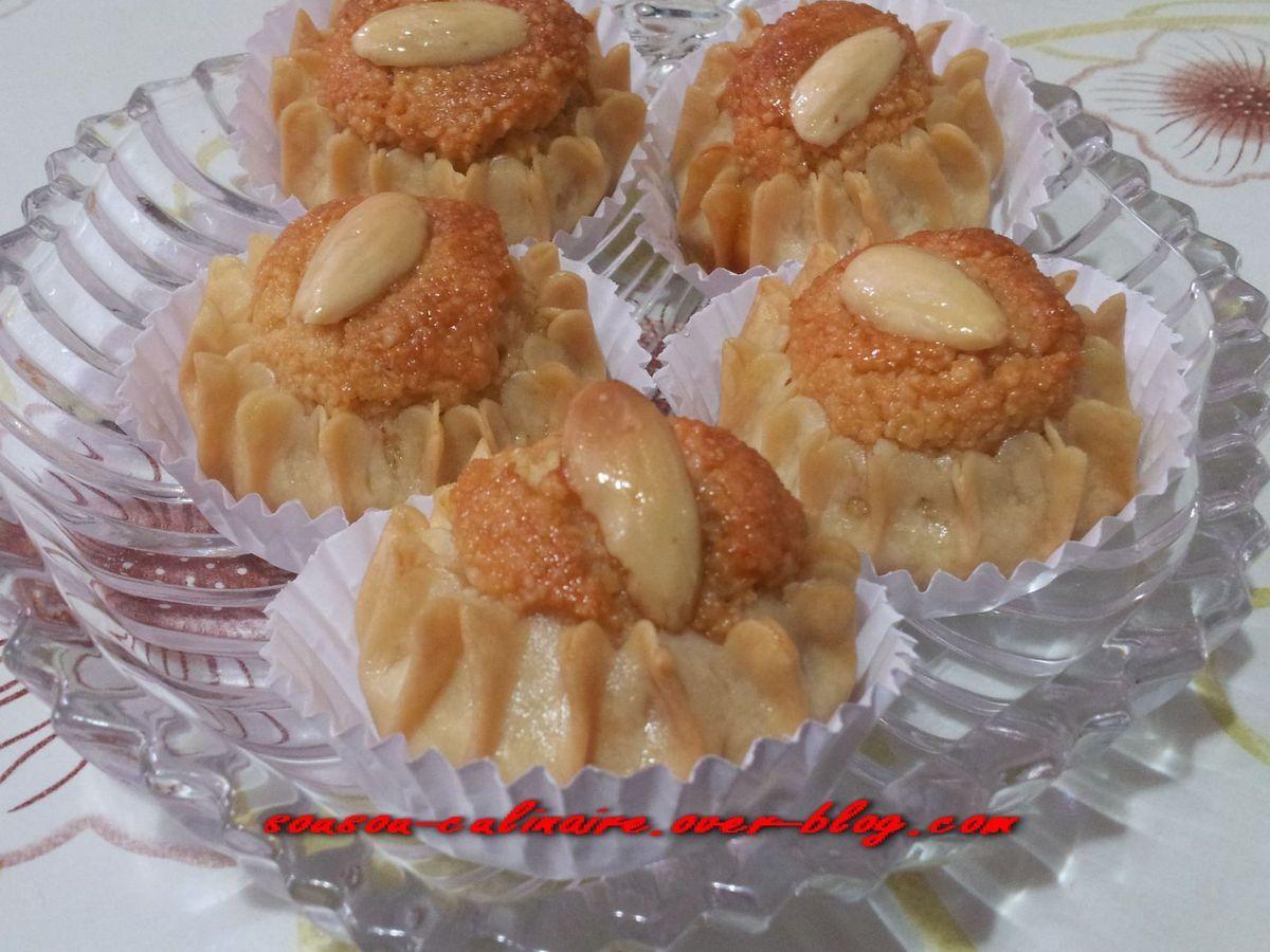 Dziriettes (gâteau traditionnel algérien aux amandes)