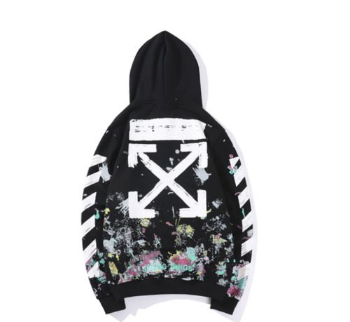 Women's Clothing Drop Shipping Japanese Street Fireworks Embroidery Hoodies Hip-hop Style Hoodie Lovers Loose Selected Material