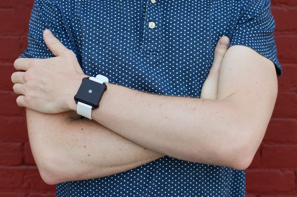 A Watch That Is Still 'Smart' Without A Screen - http://www.psfk.com/2016/09/a-watch-that-is-still-smart-without-a-screen.html
