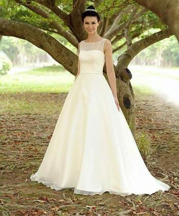 Fabulous Chic Princess Wedding Dress in Simple Design by Augusta ...