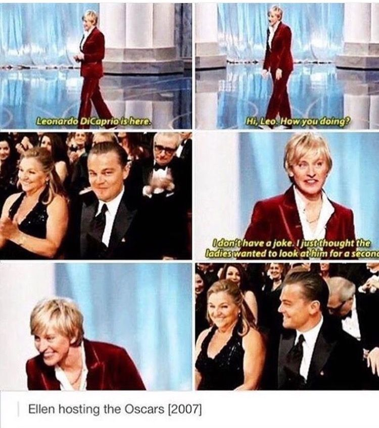 I love Ellen so much Tumblr funny, Laugh, Giggle