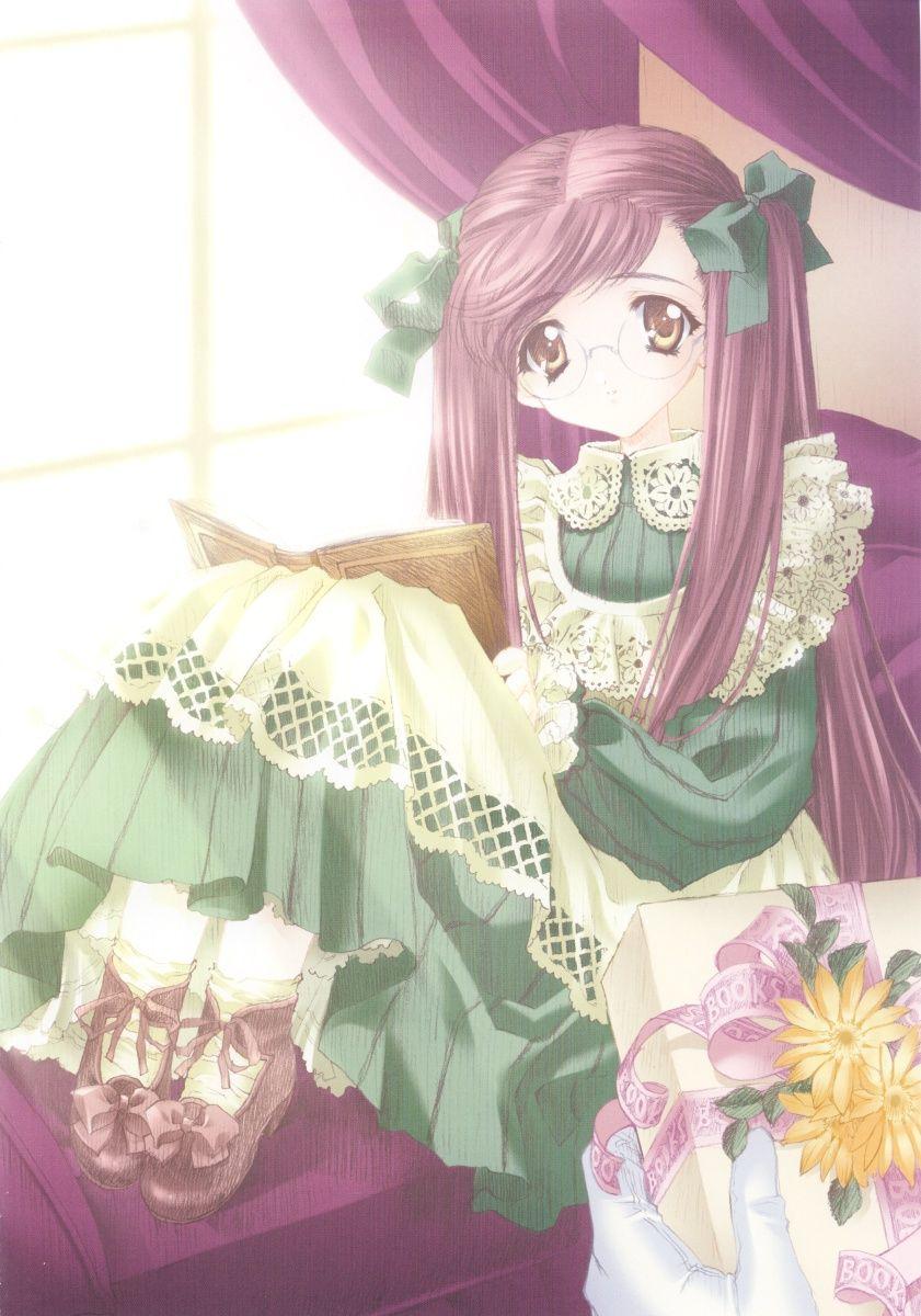 anime art classic lolita dress apron ce