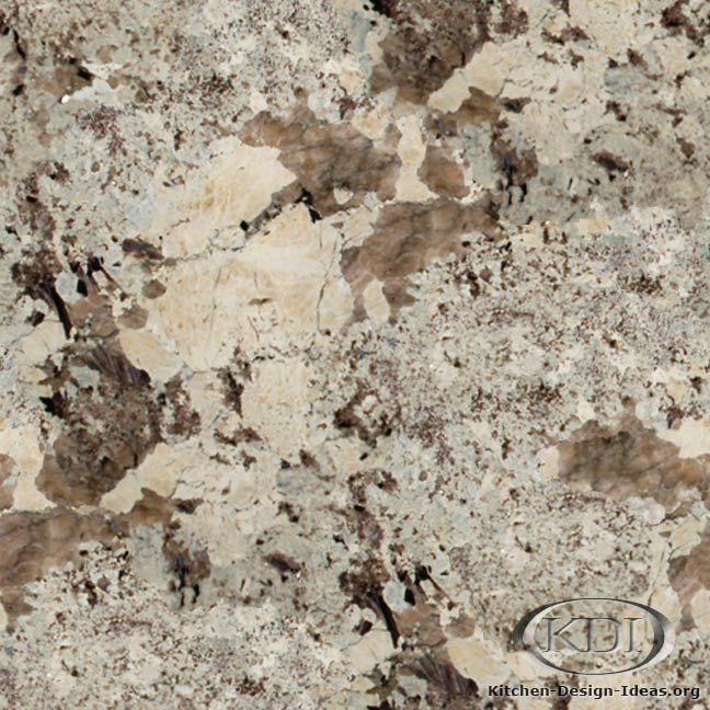 Golden River Granite Kitchen: Alaska Granite - Kitchen Countertop Ideas