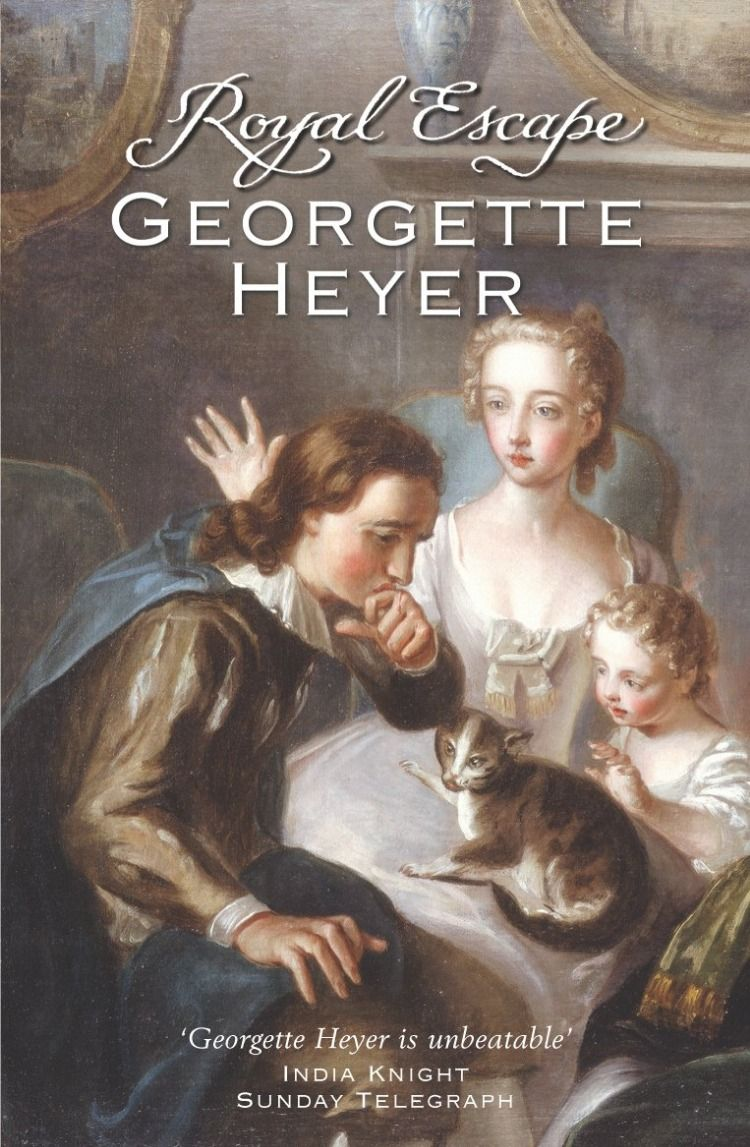 Georgette Heyer Royal Escape Awordfromjojo Historicalromance Georgetteheyer Georgette Heyer Historical Books Georgette Heyer Books
