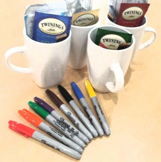 Decorating Programs coffee cup creations, residence life, programs, ra, mug with