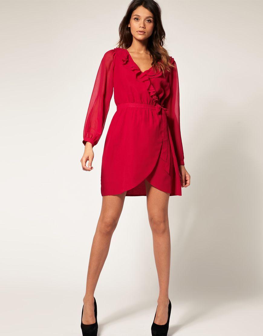 Crossbar Wrap Dress // Aje | Fashion, Clothes, Wrap dress