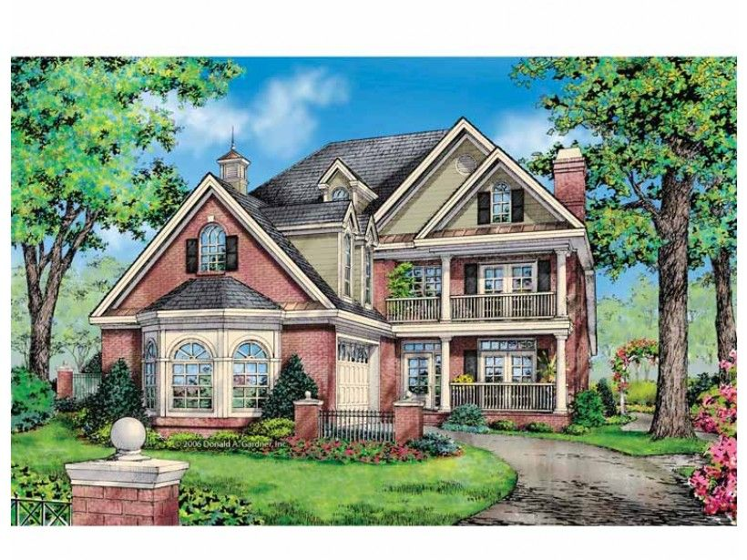 Colonial style house plan 4 beds 35 baths 2969 sqft