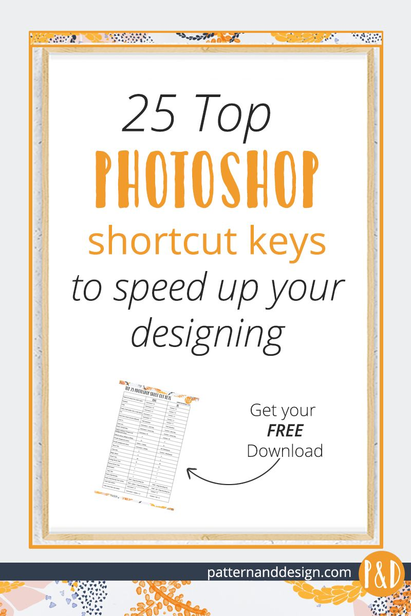Top Shortcut Keys for your surface pattern
