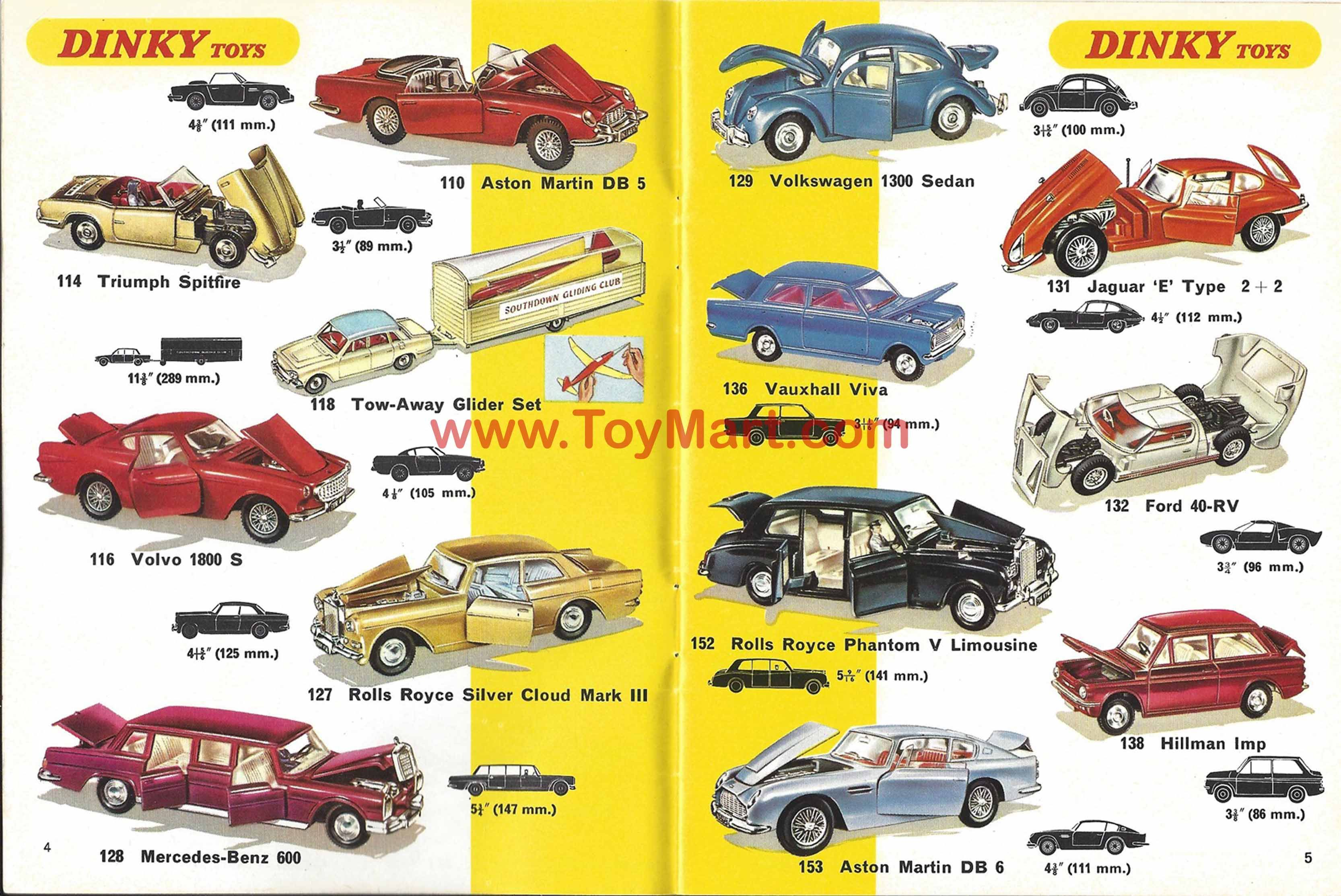 Dinky Toys Catalogue 1969 Cover Dinky Toys Catalogues