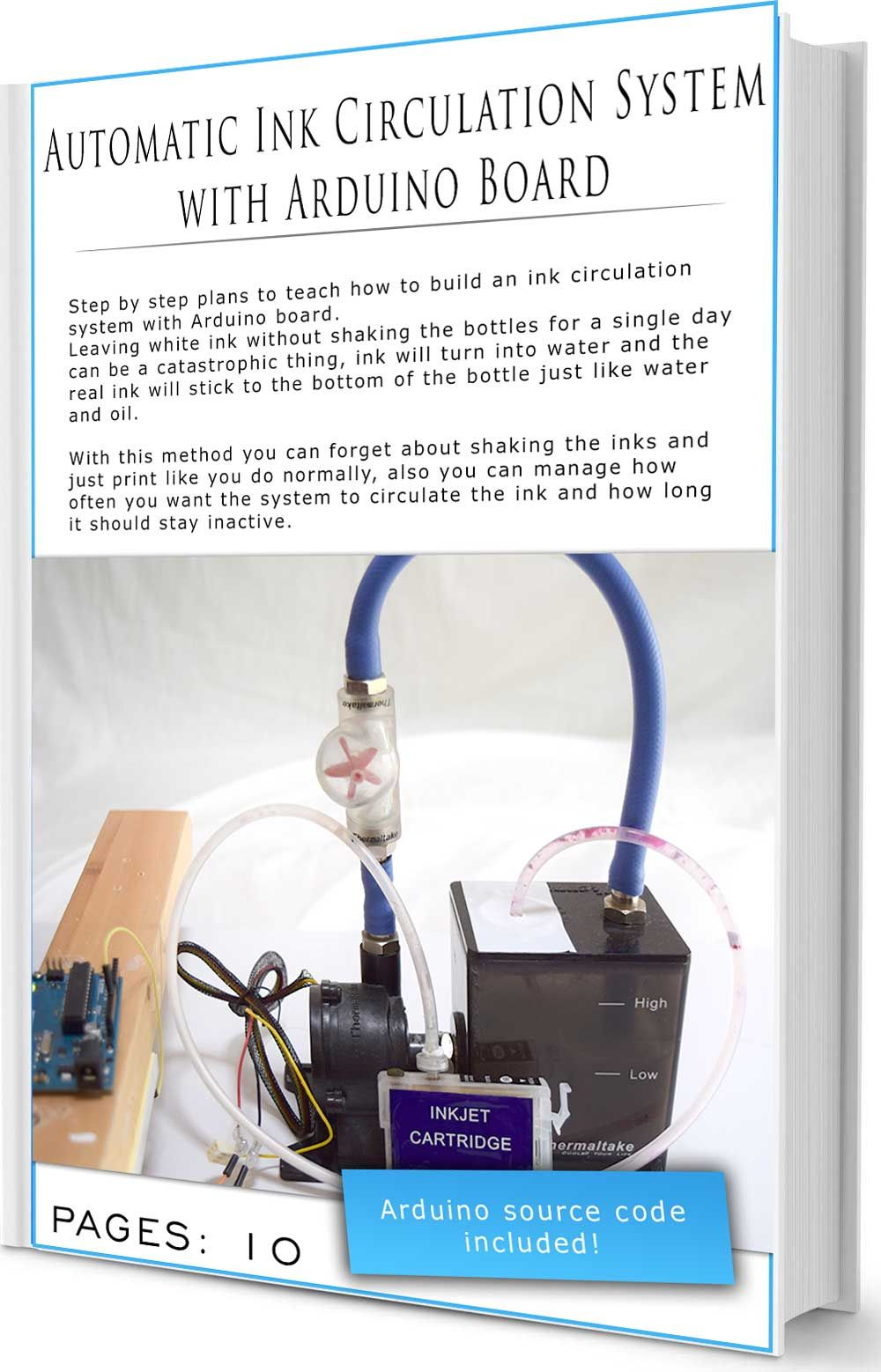 Automatic Ink Circulation System with Arduino Board - E-Book | DIY