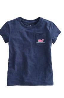 2472fbc7 Vineyard Vines Girls Short-Sleeve Stripe Whale Fill Tee | Spring ...