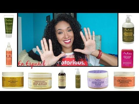 Top 10 Favorite Shea Moisture Products | RisasRizos - YouTube