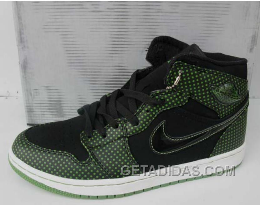Jordan Shoes Air Jordan 1 Retro High Black Chlorophyll Polka Dot [Air Jordan  1 - Chlorophyll grabs energy from sunlight for plants and these latest  joints ...