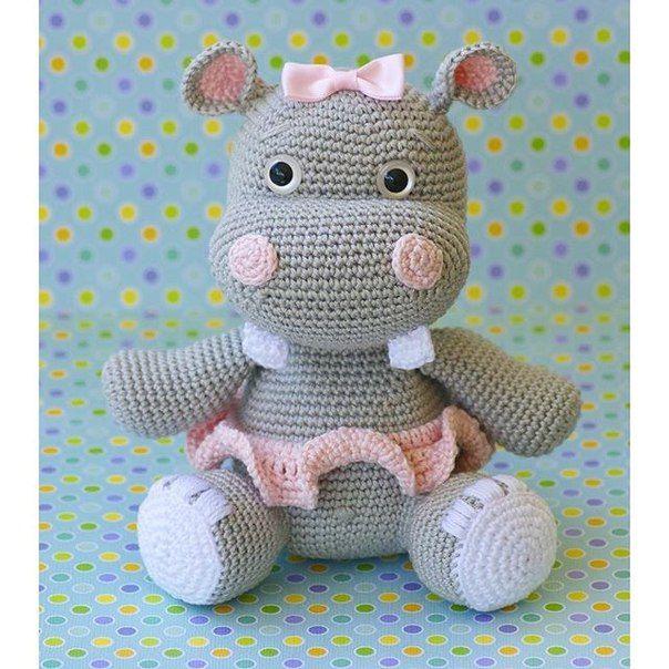 Resultado de imagen para hipopotamos tejidos al crochet paso a paso ...