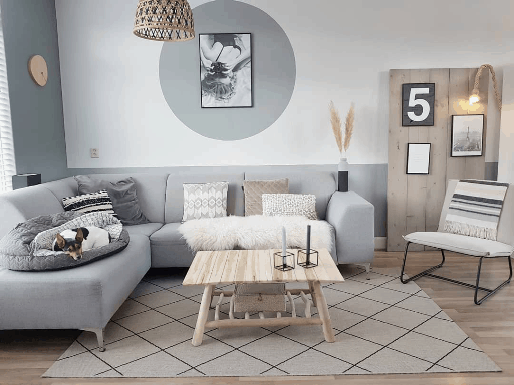 How To Place A Rug Under A Sectional Sofa In 2020 Living Room Rug Placement Sectional Sofa Living Room Inspiration