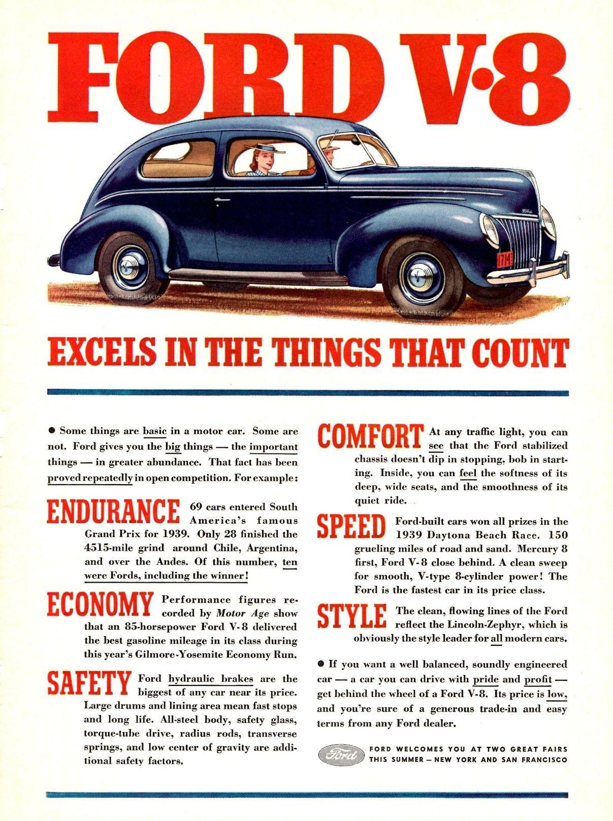 Ford V 8 1939