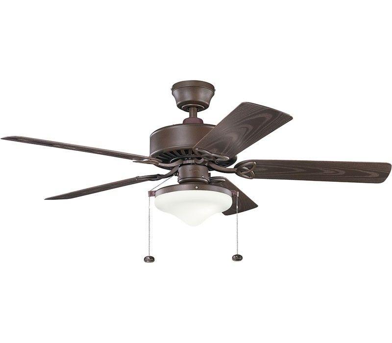 Kichler 339516sbk Ceiling Fan Satin Black 52 Outdoor Ceiling Fan With Light Ceiling Fan Outdoor Ceiling Fans Ceiling Kichler ceiling fans with lights