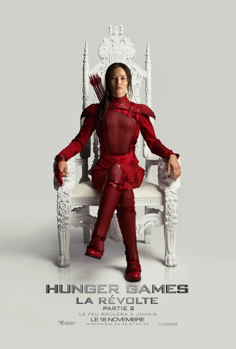 Hunger Games 4 - La Révolte : Partie 2 Vostfr en streaming Film complet.  Regarder Hunger Games 4 - La Révolte : Partie 2 Vostfr streaming VOSTFR HD  illimité ...