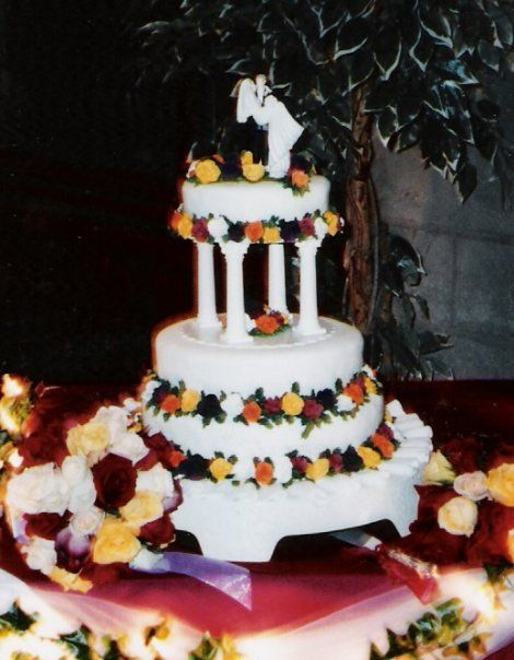 Anik's Wedding Cake