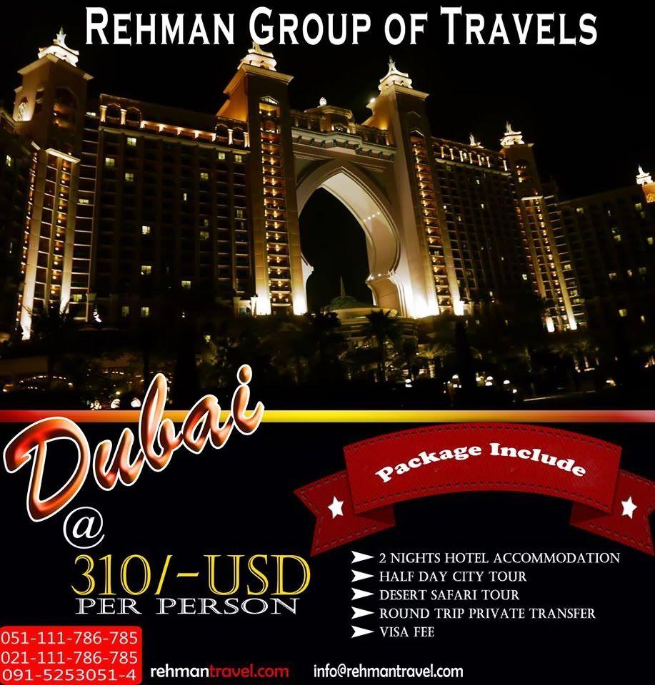 Rehman Group Of Travels: Dubai Visit Packages | Dubai ...
