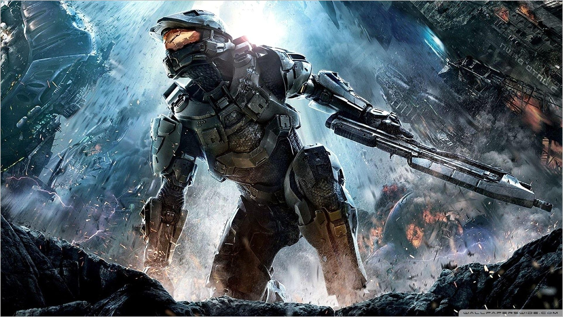Halo 4 Wallpaper 4k In 2020 Halo Cool Wallpapers For Pc Video Games